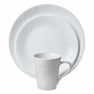 Corelle Embossed Bella Faenza 16-pc Dinnerware Set  sc 1 st  Wayfair & Corelle Dinnerware