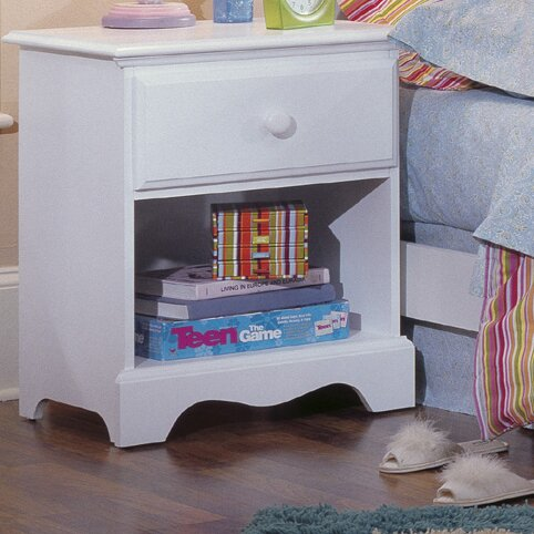 Sikorsky 1 Drawer Nightstand by Grovelane Teen