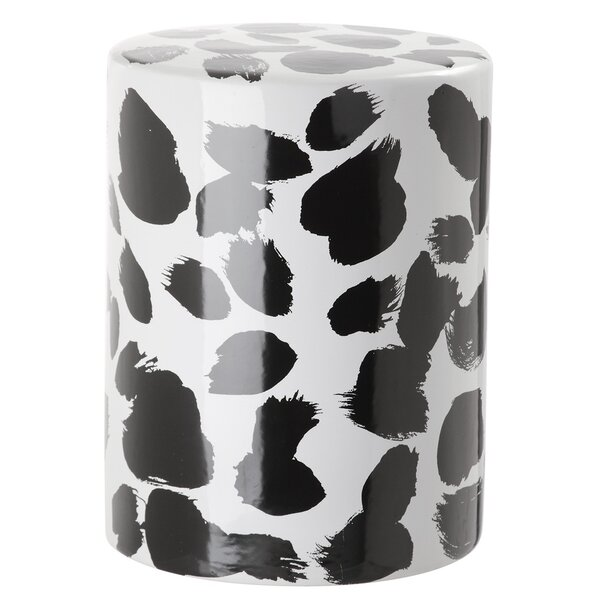 Haley Spotted Garden Stool by Latitude Run