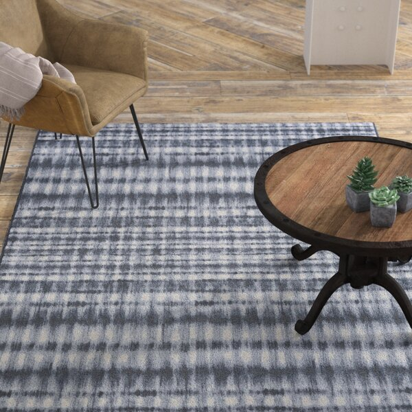 Aquinnah Woven Gray/Ivory Area Rug by Williston Forge