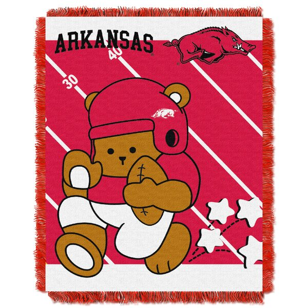 Collegiate Arkansas Baby Throw by Northwest Co.