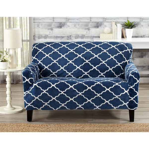 T-Cushion Loveseat Slipcover by Alcott Hill