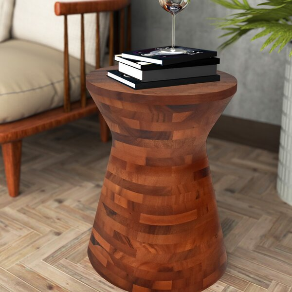 Dalveen End Table by World Menagerie