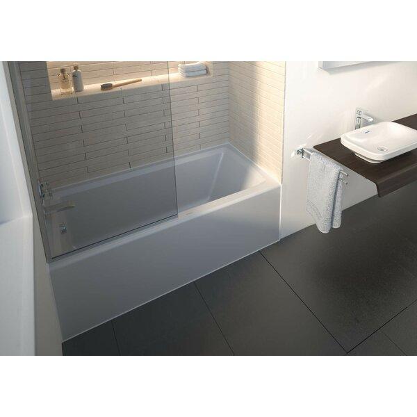 Architec 60 x 30 Alcove Soaking Bathtub by Duravit