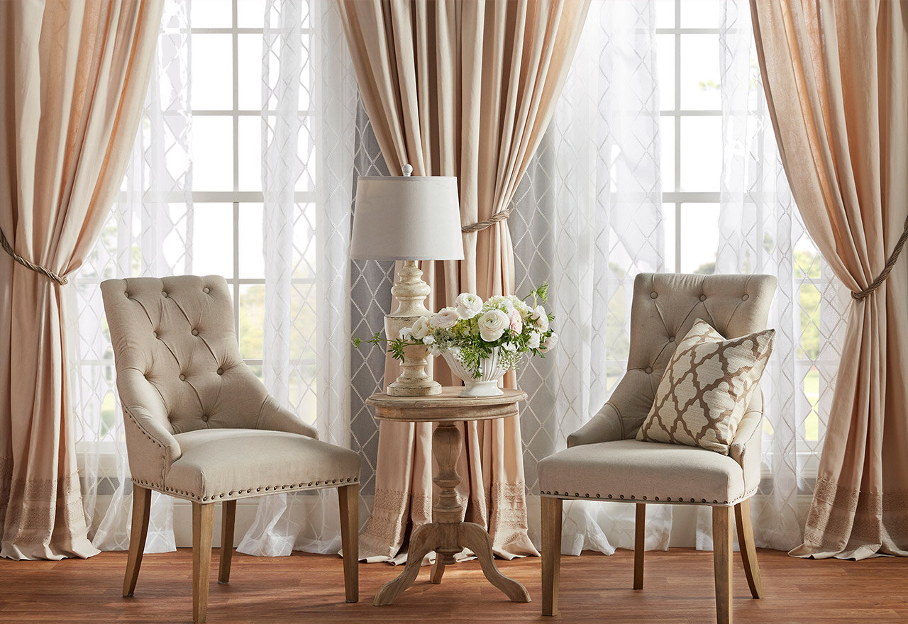 Window Treatments 27: Layering Curtains & More  Wayfair