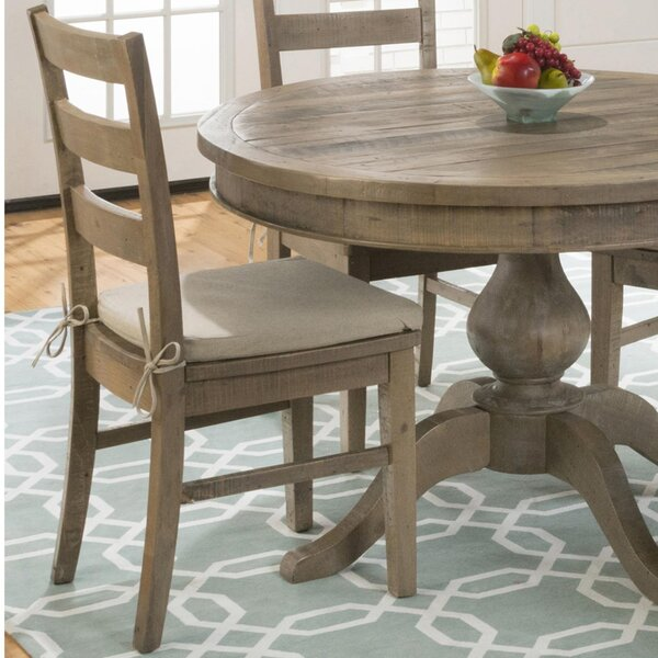 Alhambra Solid Wood Dining Chair (Set of 2) by August Grove