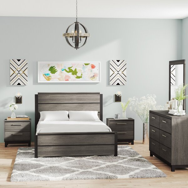 Mandy Platform 5 Piece Bedroom Set by Gracie Oaks