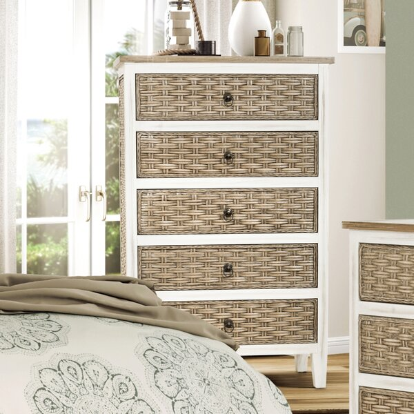 Eversole 5 Drawer Standard Chest by Bay Isle Home