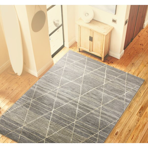 Carnlea Hand-Tufted Taupe Area Rug by Gracie Oaks