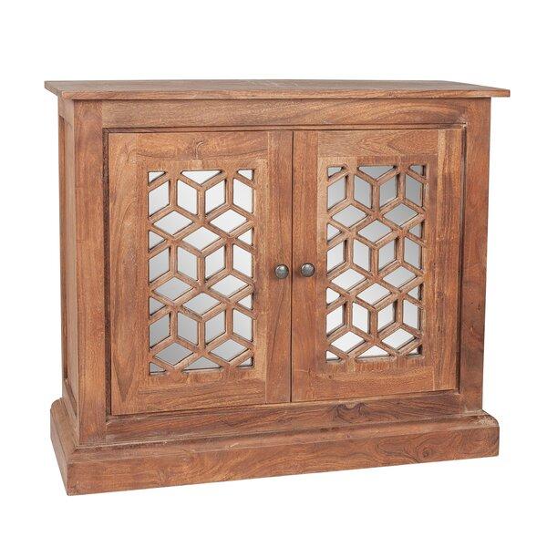 Meurer 2 Door Mirrored Accent Cabinet By Rosalind Wheeler