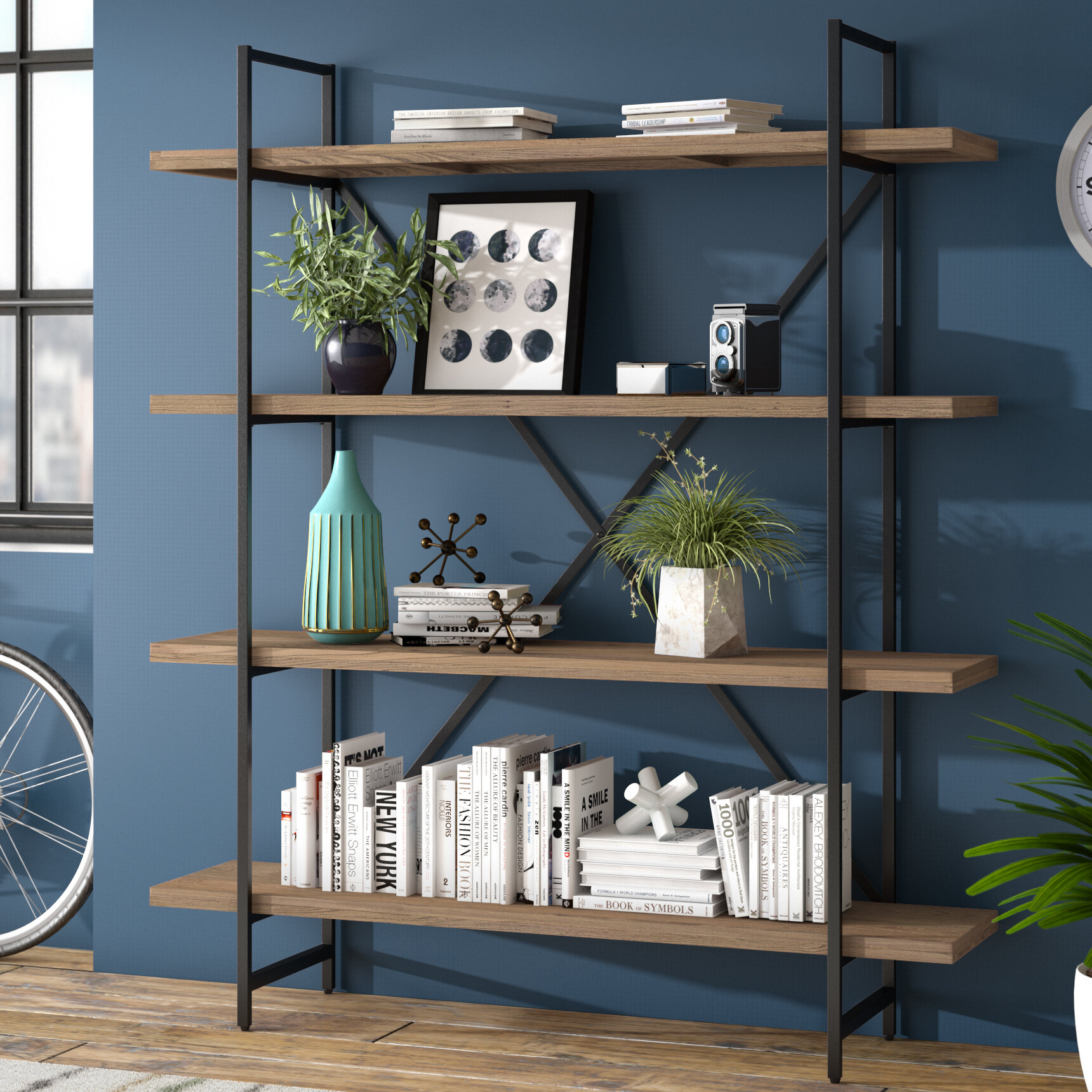 Zipcode Design Champney Modern Etagere Bookcase Reviews