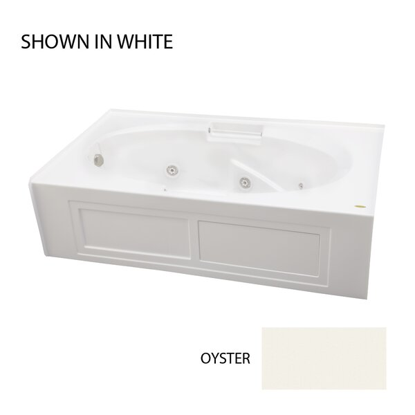 Majora 72 x 42 Skirted Whirlpool Bathtub by Jacuzzi®