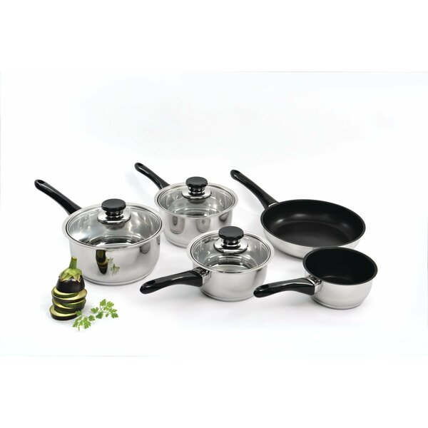 Vision 5 Piece Cookware Set by BergHOFF International