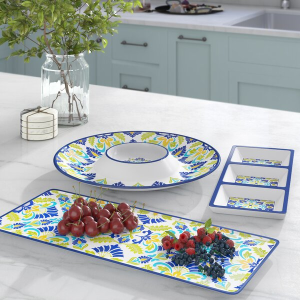 Hoehn 3 Piece Divided Serving Dish Set by Alcott Hill