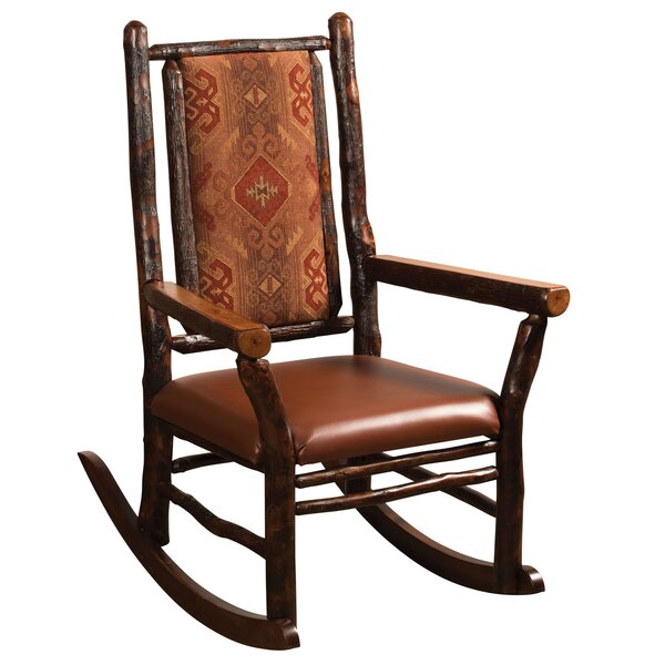 Queens Rocking Chair by Loon Peak