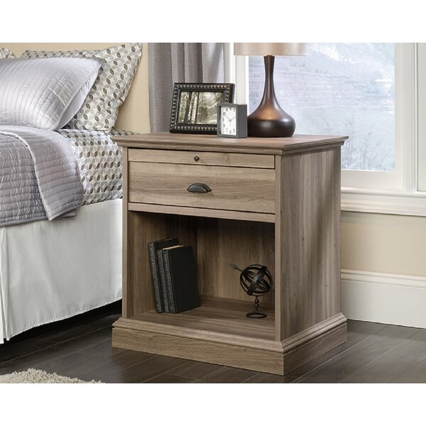Dellwood 1 Drawer Nightstand by Foundry Select