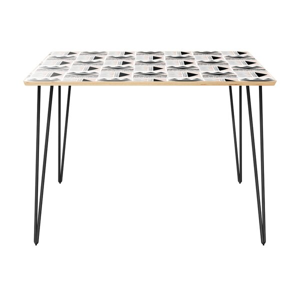 Hurwitz Dining Table by Bungalow Rose