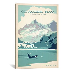 'Glacier Bay' by Anderson Design Group Vintage Advertisement on Canvas by iCanvas