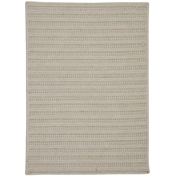 Tidewater Water Resistant Hand-Woven Natural Area Rug by Rosecliff Heights