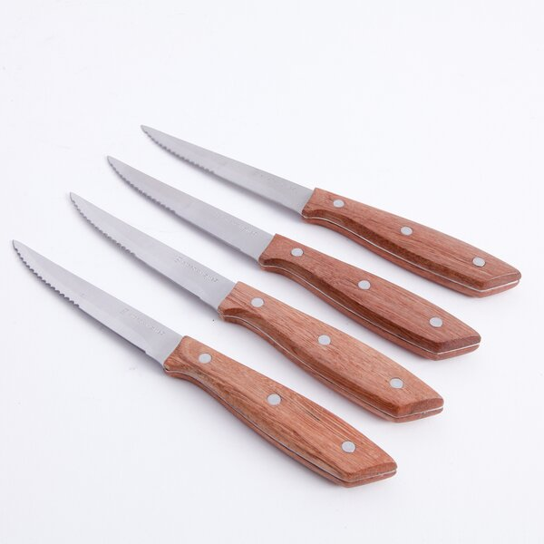 Seward 4 Piece Steak Knife Set by Gibson