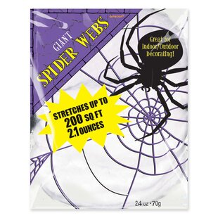 Carolines Treasures Rest in Peace Spider Web Halloween Night Light 6 x 4 Multicolor