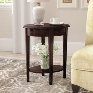 Harleigh Chairside End Table by Charlton Home