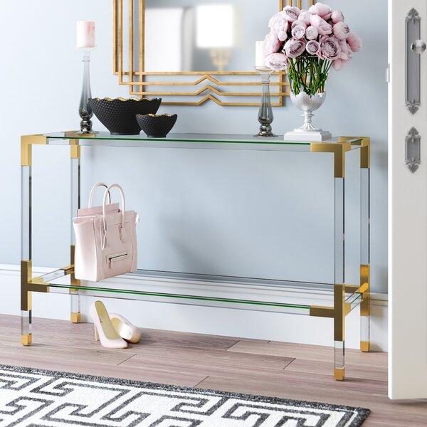 Dinapoli Console Table by Willa Arlo Interiors