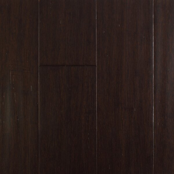 4-1/2 Solid-Lock Strandwoven Bamboo Flooring in Coffee Bean by ECOfusion Flooring