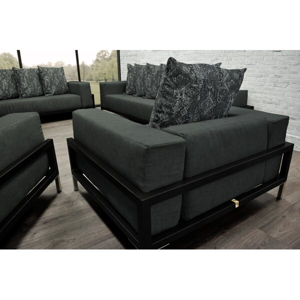 Tilly 3 Piece Sofa Set with Cushions by Orren Ellis