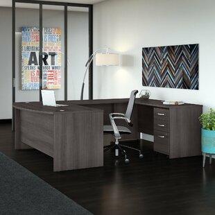 Studio C 2 Piece U-Shaped Executive Desk