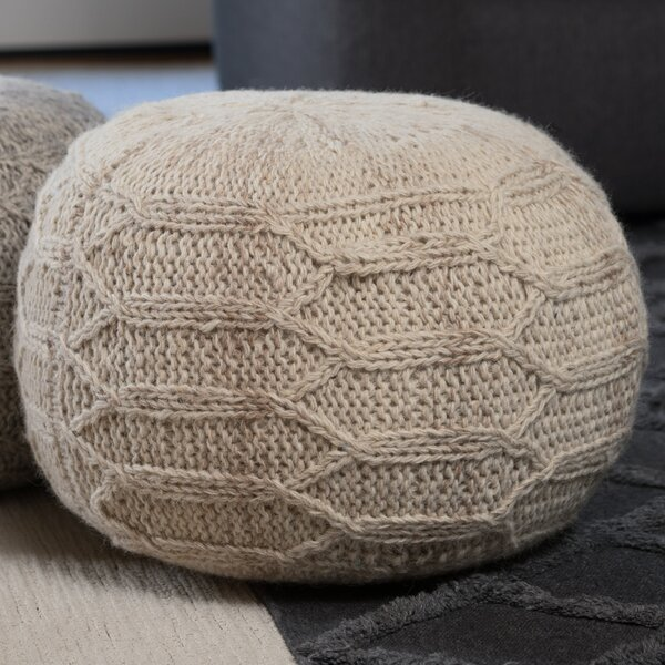 Montclair Pouf by Bungalow Rose