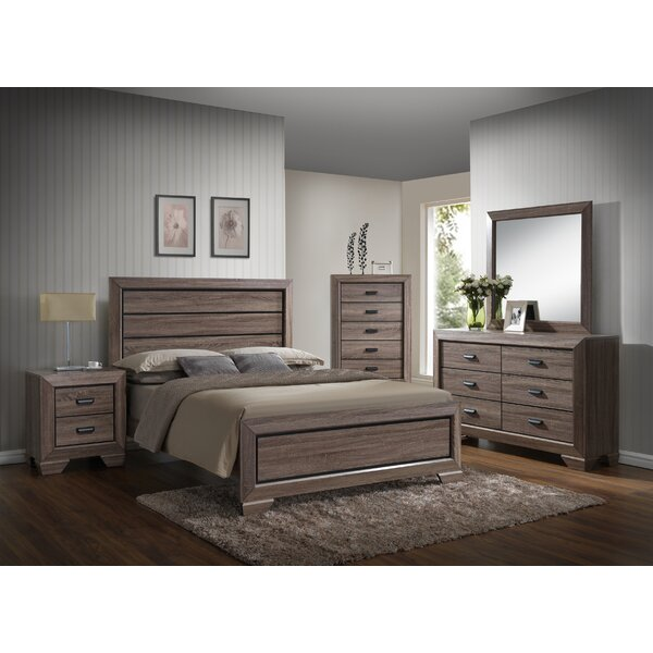 Westover Queen Standard 5 Piece Bedroom Set by Gracie Oaks