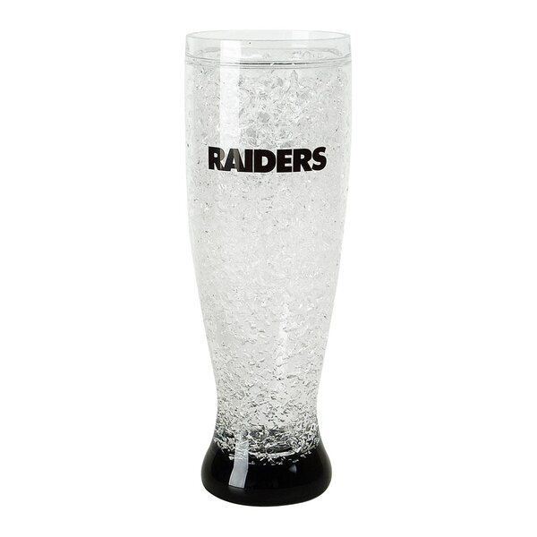 NFL 16 Oz. Crystal Freezer Pilsner Glass by DuckHouse