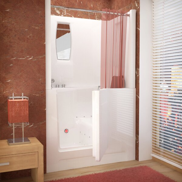 Telluride 47 x 27 Walk-In Air Jetted Bathtub by Therapeutic Tubs