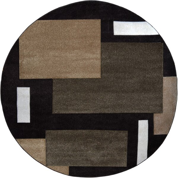 Sumatra Gray Cubes Area Rug by Home Dynamix