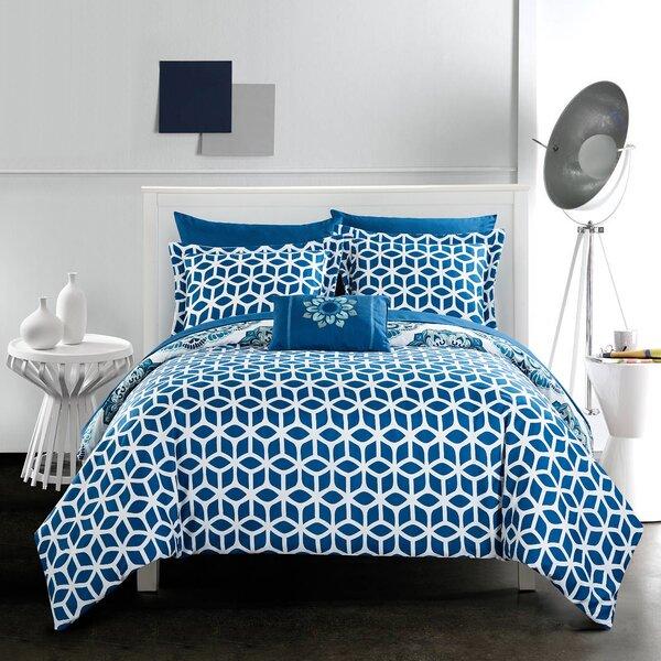 Fuller Reversible Comforter Set by Latitude Run