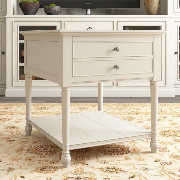 Payton End Table With Storage by Canora Grey