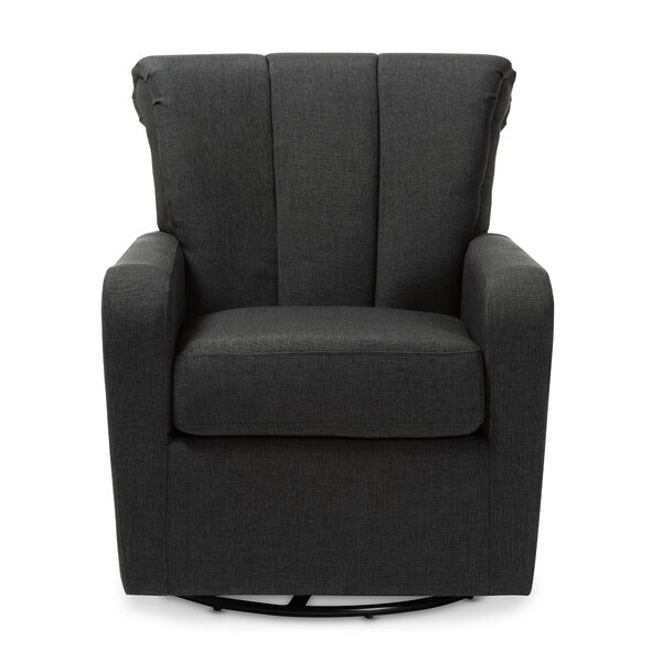 Theisen Swivel Armchair by Winston Porter