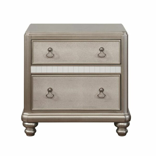 Weatherspoon 2 Drawer Nightstand by Rosdorf Park