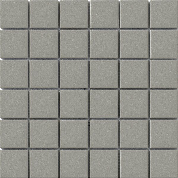 Urban 2 x 2 Porcelain Mosaic Tile in Grey by Walkon Tile
