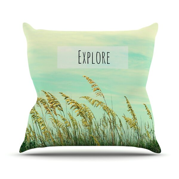 Explore Outdoor Throw Pillow by East Urban Home