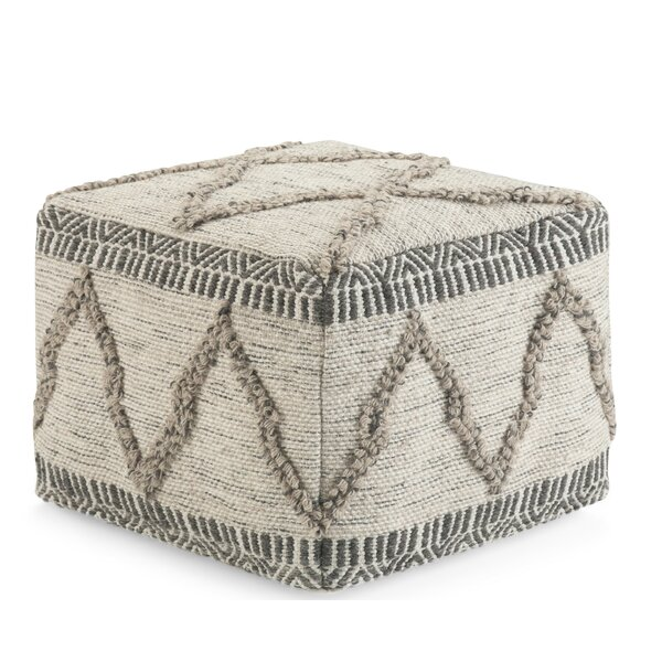 Tidore Square Pouf by Bungalow Rose