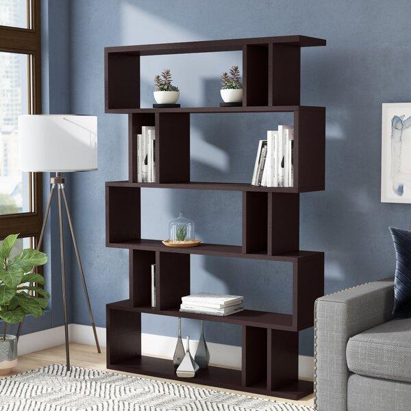 Spicer Geometric Bookcase By Ebern Designs