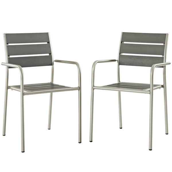 Coline Patio Dining Chair (Set of 2) by Orren Ellis Orren Ellis