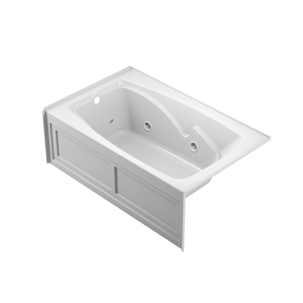 Cetra Left-Hand Heater and Chroma 60 x 36 Skirted Whirlpool Bathtub by Jacuzzi®