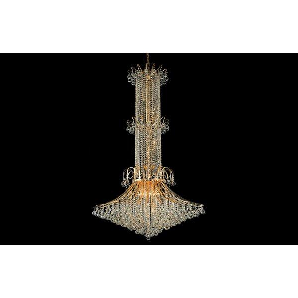 Warlick 33 - Light Unique Empire Chandelier By Rosdorf Park