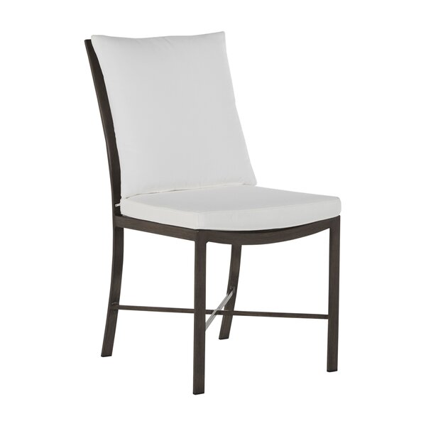 Monaco Patio Dining Chair with Cushion (Set of 2) by Summer Classics