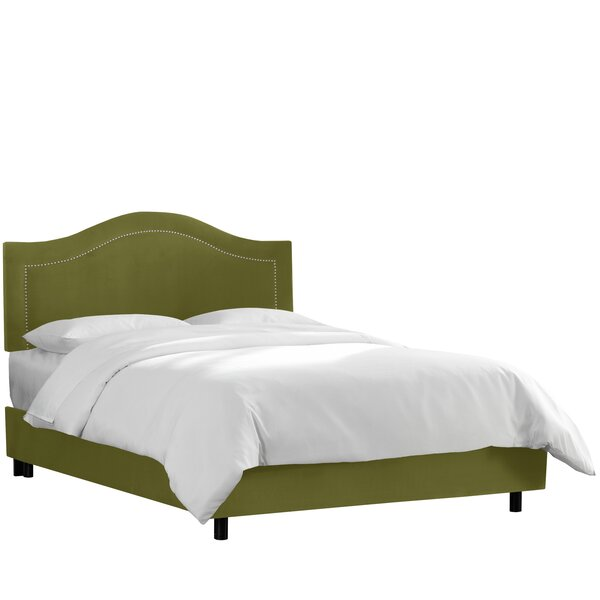 Brunella Upholstered Wood Frame Standard Bed by Willa Arlo Interiors