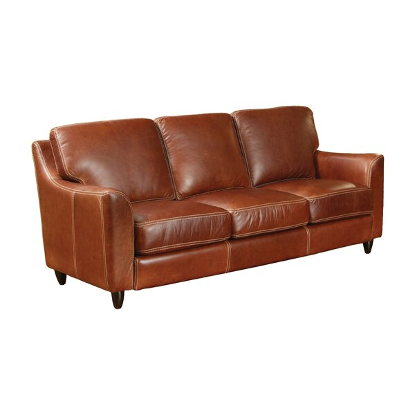 Great Texas Leather Sofa by Omnia Leather