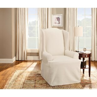 your chairs with slipcovers mid slipcover chair fantastic wing century modern for additional